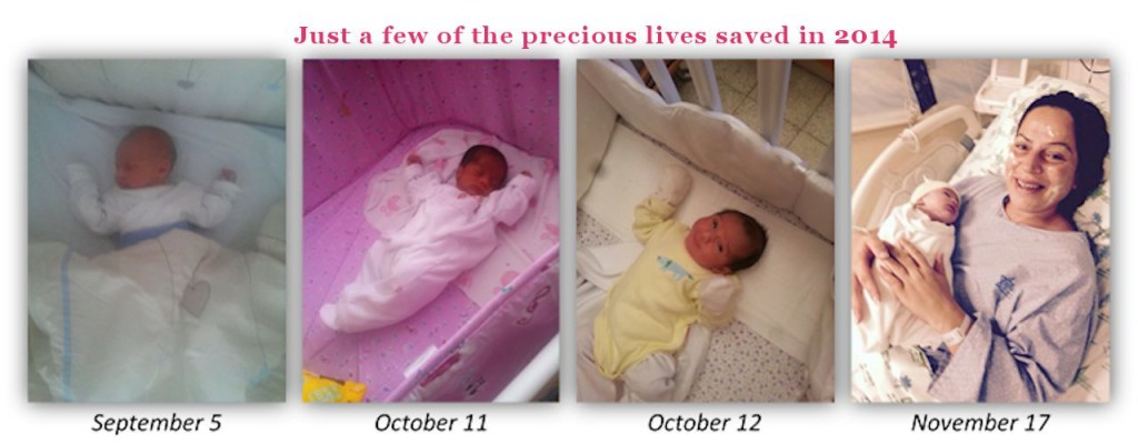 More pictures of babies saved through the ministry of a Future and a Hope